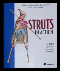 Struts In Action Cover